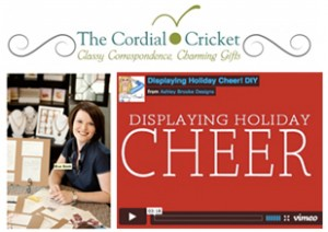 ashley brooke designs on the cordial cricket