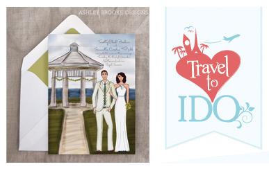 Ashley Brooke Designs on Travel to I Do