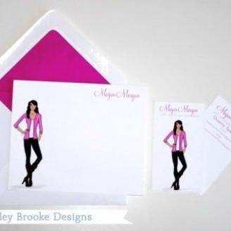 Ashley Brooke Designs: Custom Stationery + Calling Cards