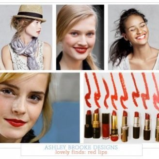Lovely Finds: Red Lip Stick