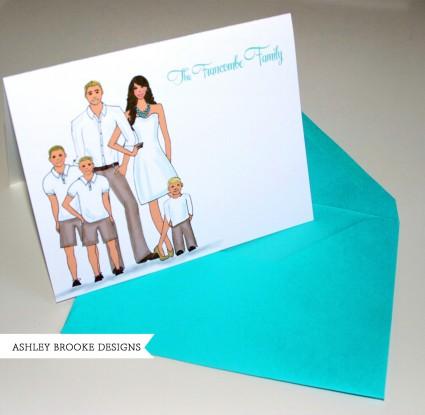 Ashley Brooke Designs: Stacie's Family Stationery