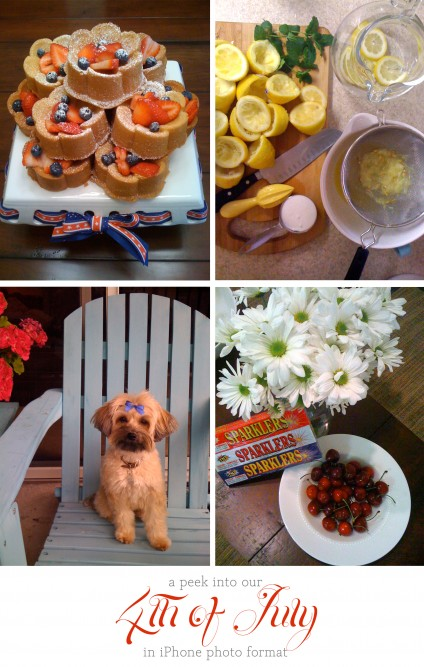 A peek into our 4th of July!