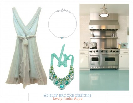 Lovely finds: The Color Aqua