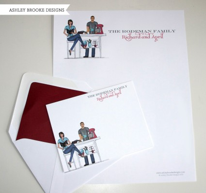 Ashley Brooke Designs: Letterhead + Stationery