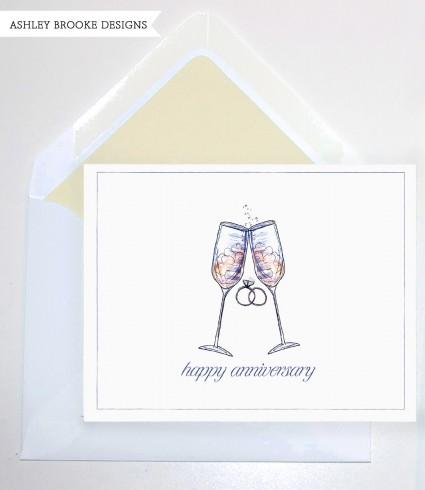 Ashley Brooke Designs: Anniversary Card