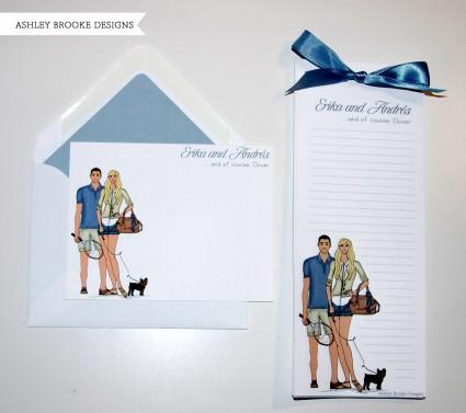 Ashley Brooke Designs: A Trendy Couple