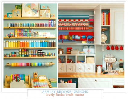 Lovely Finds: Craft Rooms