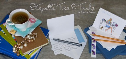 Etiquette Wednesday – Making Thank You Notes Easy!