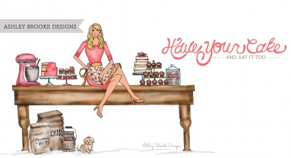 Ashley Brooke Designs: Have Your Cake & Eat It Too