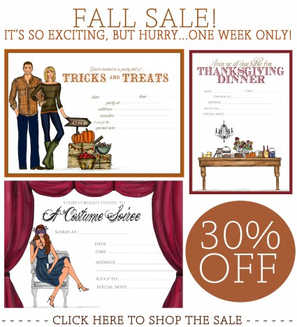 Our B-I-G Fall Sale!!