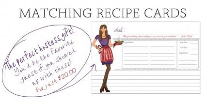 Ashley Brooke Designs Recipe Cards