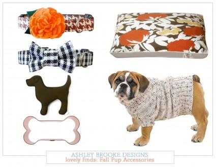 Lovely Finds: Fall Dog Accessories