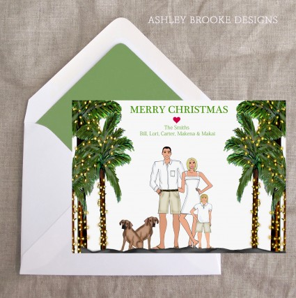 Ashley Brooke Designs: Trimming the (Palm) Tree