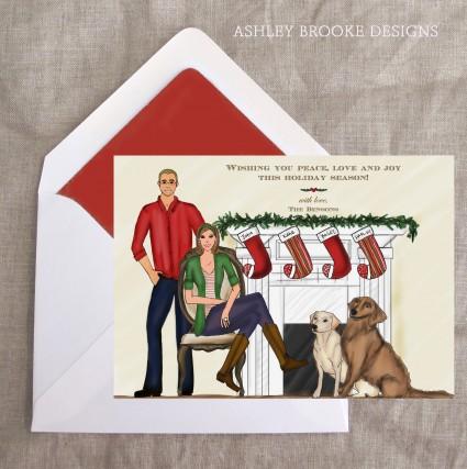 Ashley Brooke Designs: A Cozy Christmas Fire