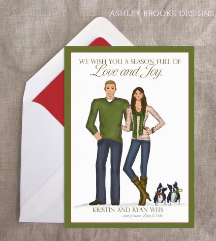 Ashley Brooke Designs: A Striped Holiday!