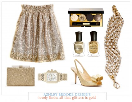 Lovely Finds: All That Glitters Is Gold