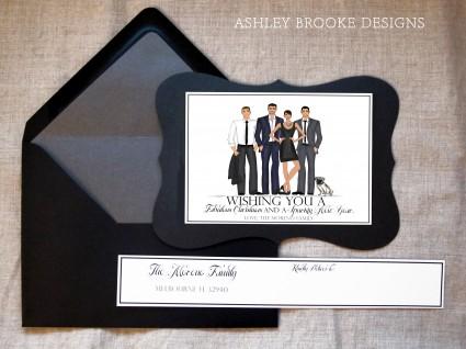 Ashley Brooke Designs: A Glamorous Christmas