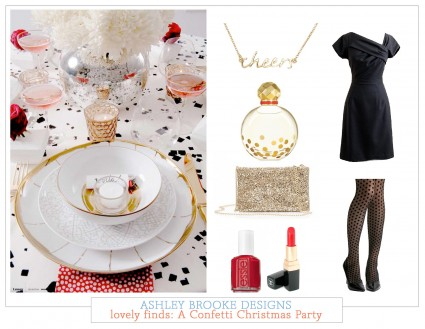Lovely Finds: A Confetti Christmas Party