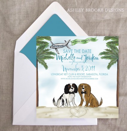 Save The Date Ashley Brooke Designs