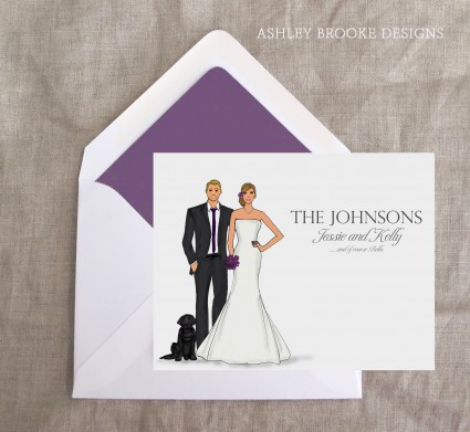 Ashley Brooke Designs: Thank you from the Bride and Groom