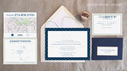 Ashley Brooke Designs: A Southern Wedding Invitation Suite