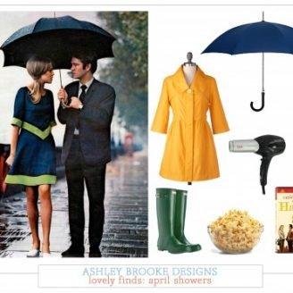 Lovely Finds: April Showers + April's Free Download
