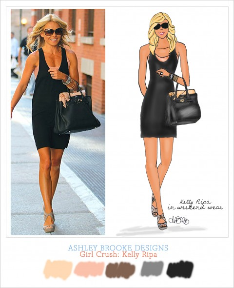 Ashley Brooke Designs Girl Crush - Kelly Ripa