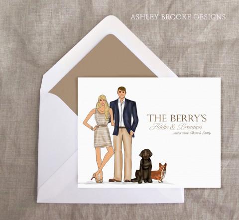 Ashley Brooke Designs Custom Illustration