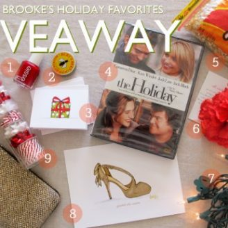 Lovely Finds: My Holiday Favorites Giveaway!