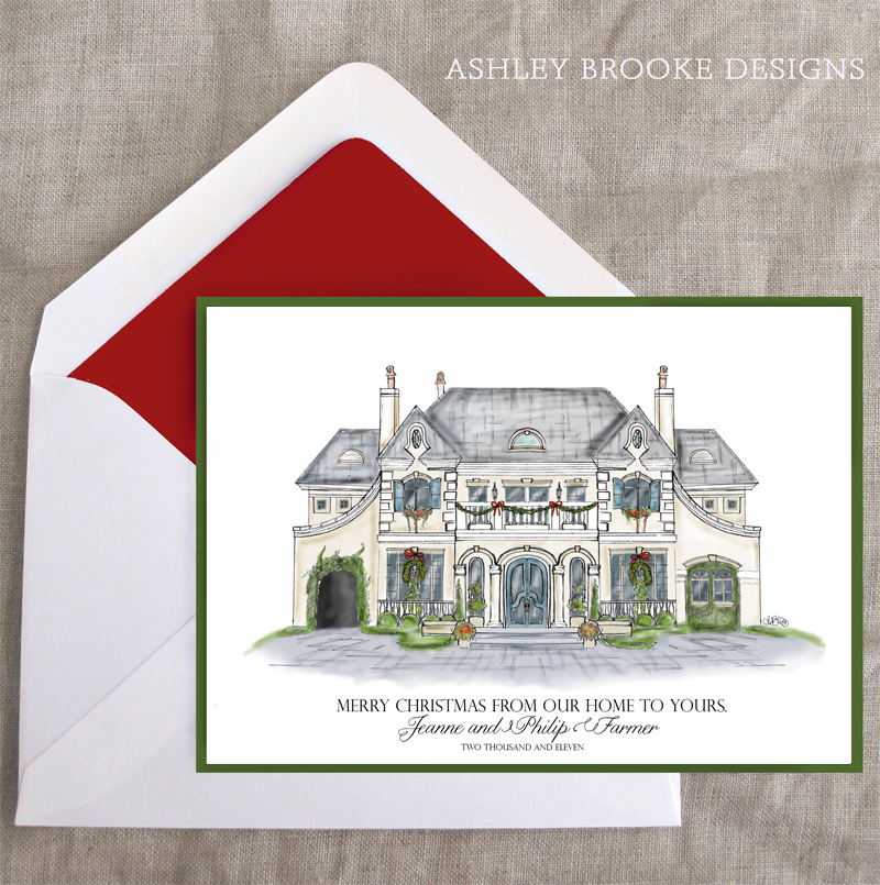 New Custom Illustration} Home For Christmas - Ashley Brooke ...