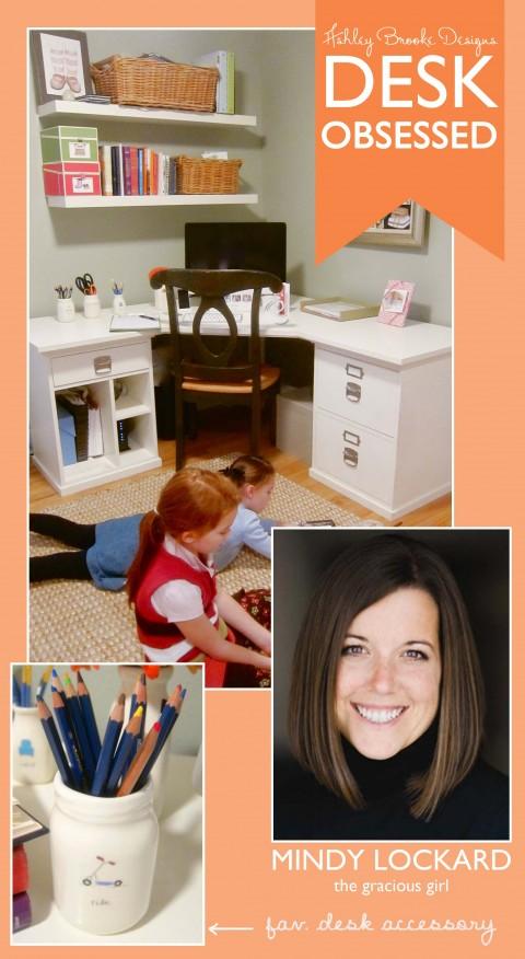 Ashley Brooke Designs : Desk Obsessed_MINDY LOCKARD
