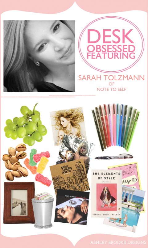 Ashley Brooke Designs Desk Obsessed - Sarah Tolzmann of Note To Self