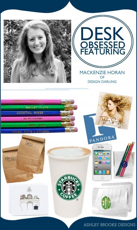 Ashley Brooke Designs - Desk Obsessed: Mackenzie of Design Darling