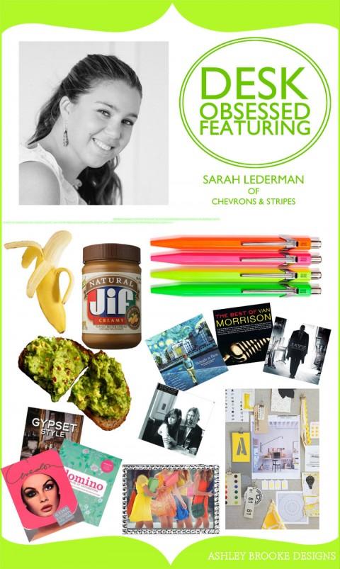 Desk Obsessed_Sarah Lederman of Chevron and Stripes
