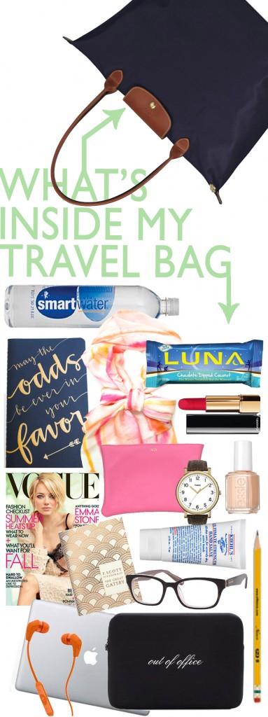 Ashley Brooke Designs- Inside My Travel Bag