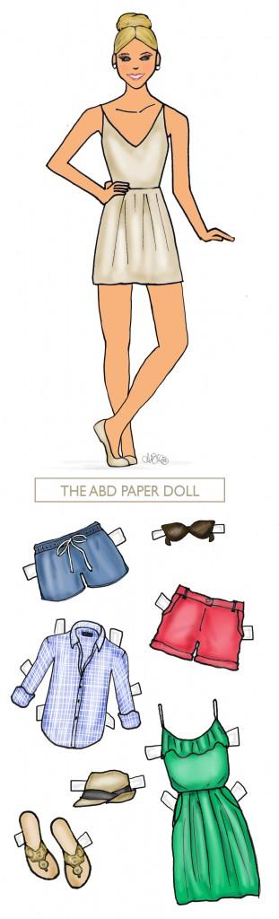 Ashley Brooke Designs - Paper Doll