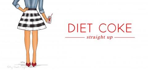 Ashley Brooke Designs-Diet Coke Straight Up