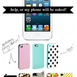 Lovely Finds: My phone will be naked…help!