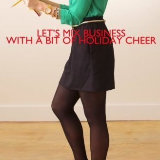 ABD: Styled // Mixing Business + Holiday Cheer