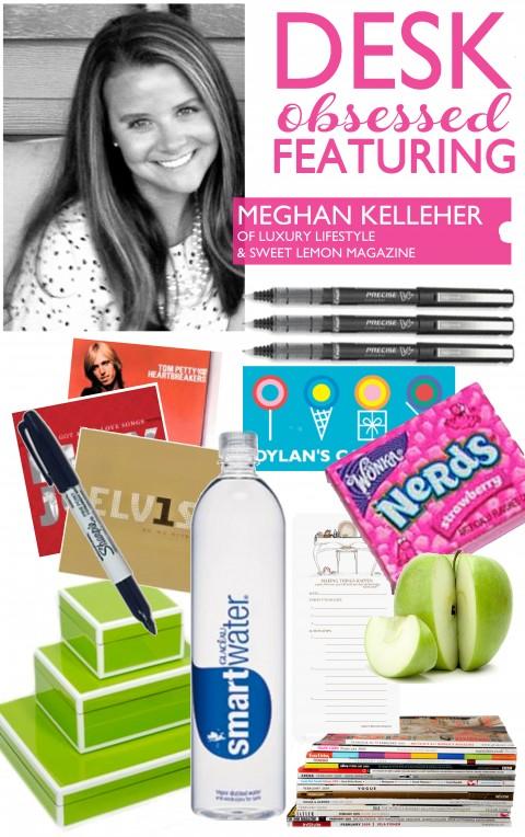 Desk Obsessed Meghan Kelleher via Ashley Brooke Designs