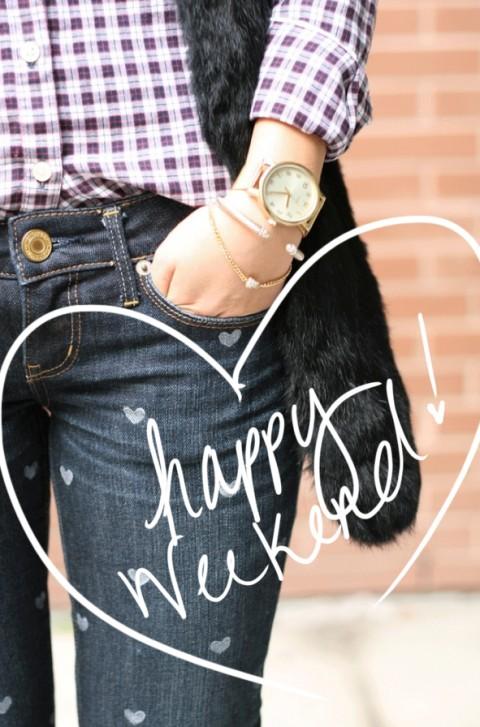 Happy Weekend via Ashley Brooke Designs