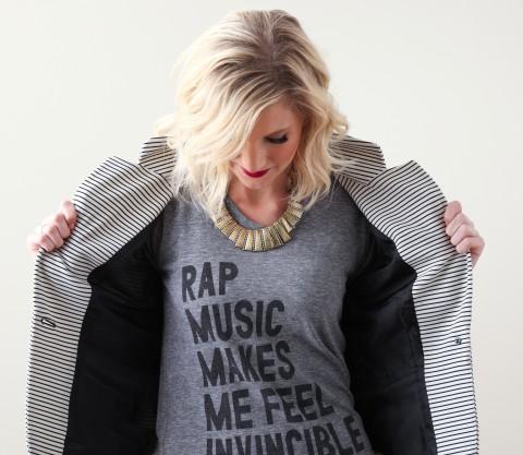 Concert Style Post via Ashley Brooke Designs