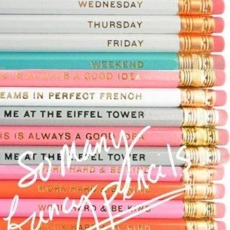 Lovely Finds: Fancy Pencils