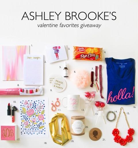 Ashley Brooke's Valentine Giveaway 2014 -BLOG