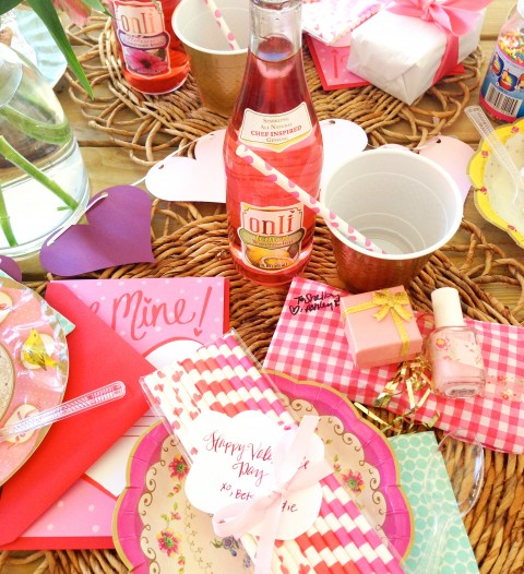 Valentine's Party via Ashley Brooke Designs