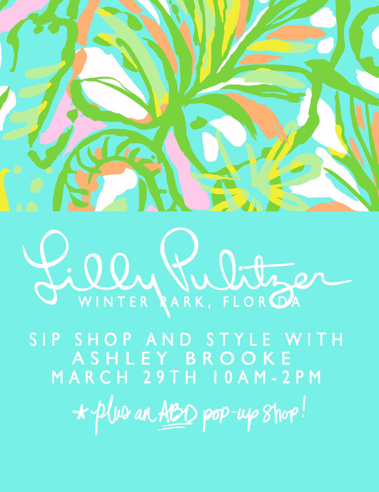 Lilly Pulitzer Quotes Abd  Lilly Pulitzer  A Sip Shop And Style  Ashley Brooke Designs