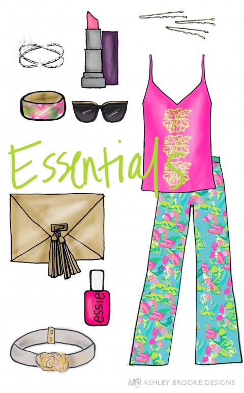 Palm Beach Essentials by Ashley Brooke Designs