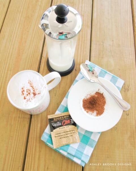 Chi Tea Latte via Ashley Brooke Designs