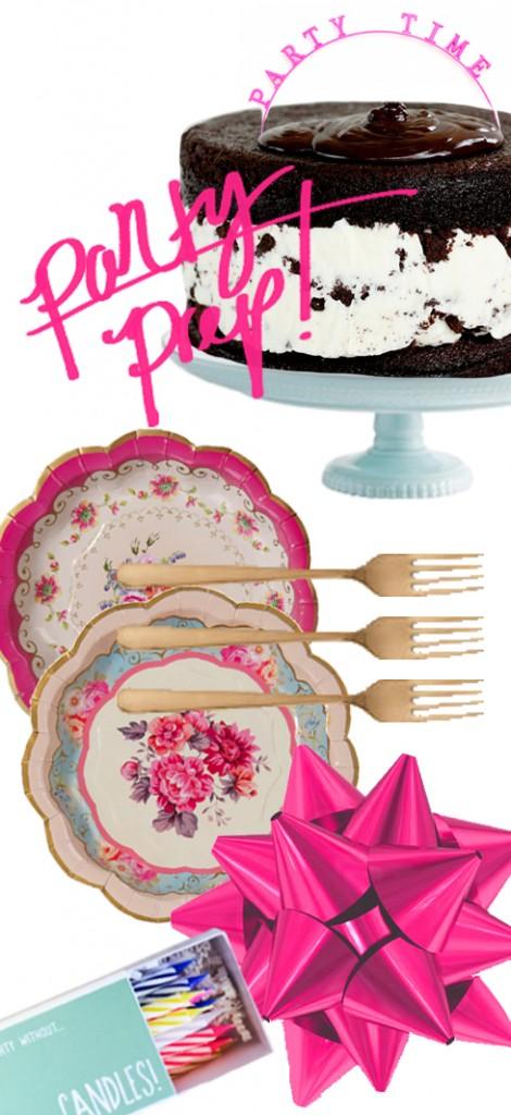 Party Prep via Ashley Brooke Designs