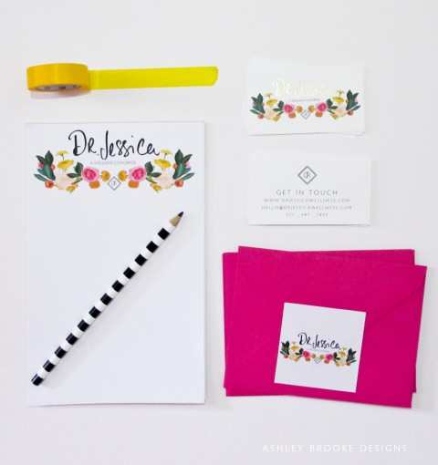 Business Collateral via Ashley Brooke Designs